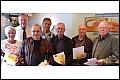 Album Sportabzeichen-Verleihung 2012:  30 Prüfungen Ingrid Bauch, Horst Knötig, Gerhard Ide, Peter Kalbfleisch, Siegmar Meibert, Roland Pleterbauer, Gerhard Strauch (Foto: Neumann)