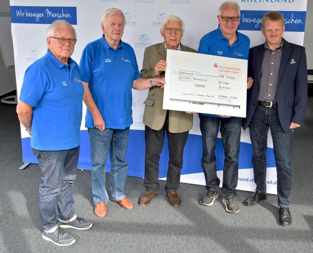 von links: Günter Brandt, Ulrich Manthei,Fritz Langenhorst, Wilfried Koch, Martin Weinitschke ,